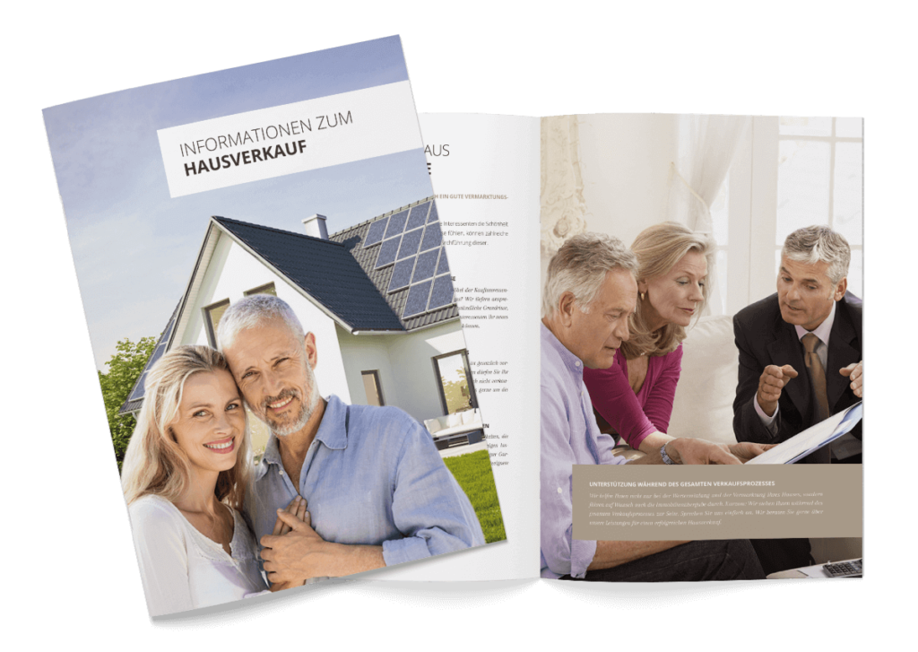 Broschüre Hausverkauf
